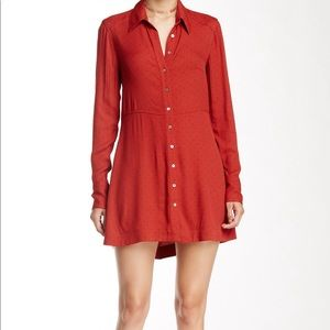 Free people 'This town' shirt dress